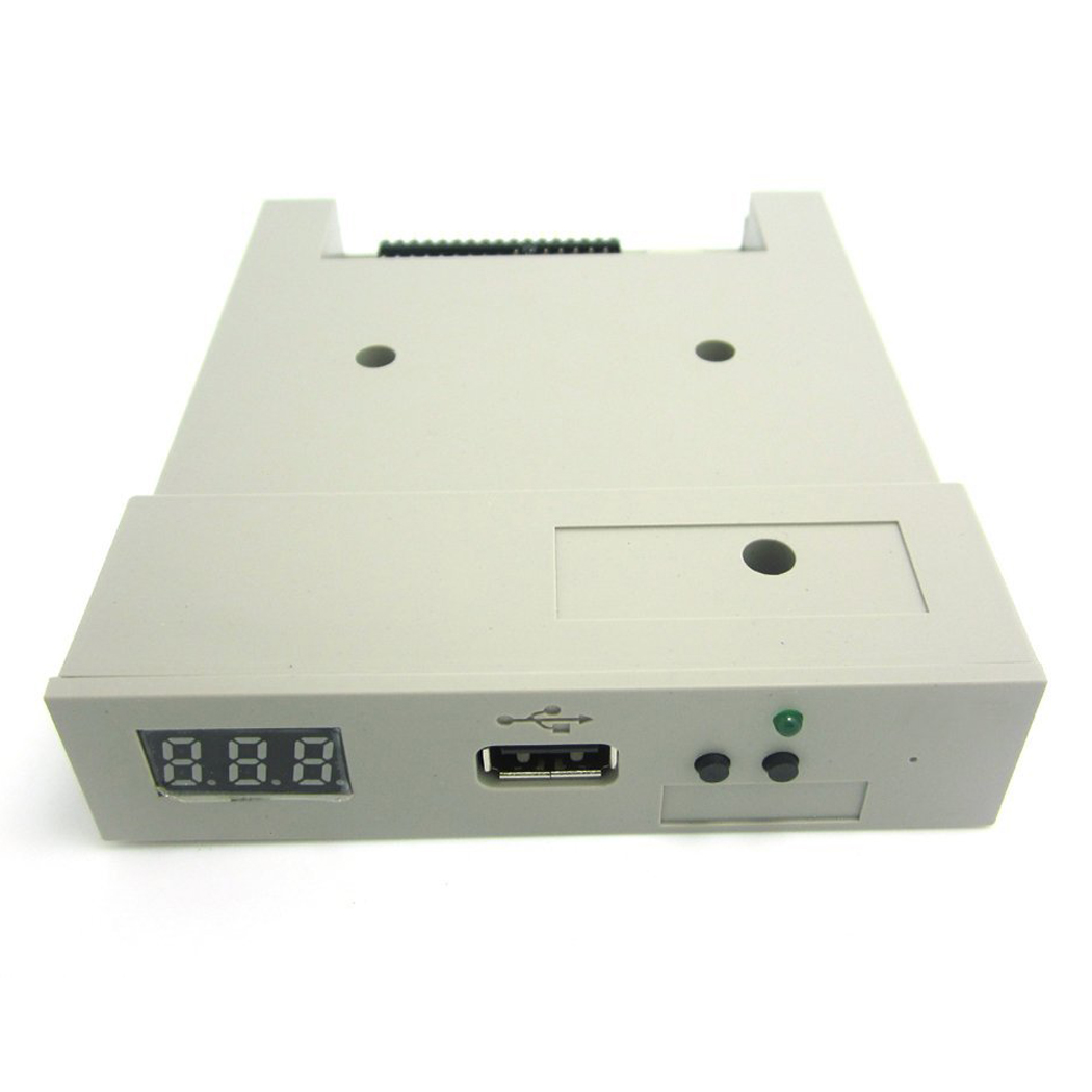 SFR1M44 U100 USB Floppy Drive Emulator ABS machine for industry Grey цена