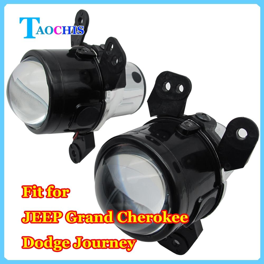 TAOCHIS 2,5-дюймовый Би-Ксеноновые проектор объектив Ксеноновые лампы противотуманного фонаря в сборе для Jeep Пт Крузер Н11 лампы высокой низкой луча Водоустойчивый