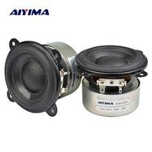 AIYIMA 3 дюйма 4 Ом 20 Вт полный диапазон динамик низкочастотный динамик с басами Средний твитер Неодимовый портативный автомобильный усилитель DIY динамик