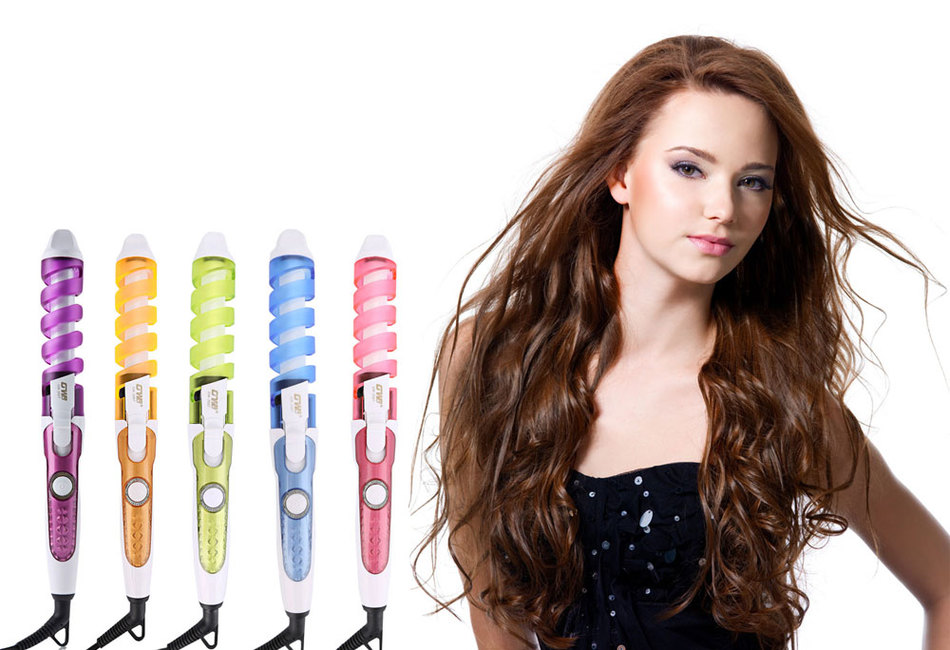 Magic Pro Perfect Hair Curlers Electric Curl Ceramic Spiral Curling Iron Wand Salon Hair Styling Tools Styler magic hair curling tool electric 1pc hair styling tools hair curler roller pro spiral curling iron wand curl styler eu plug