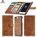 Para iphone 7 7 plus luxo estilo carteira slot para cartão magnético forte função série casos de telefone móvel para o iphone 6 6 p 6 s 6 splus