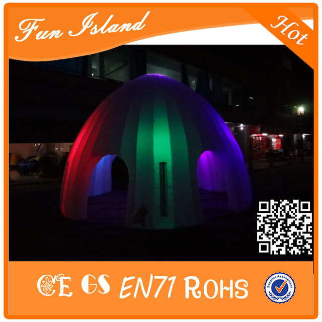 Free Shipping Custom party inflatable led tent giant light inflatable event tent for sale