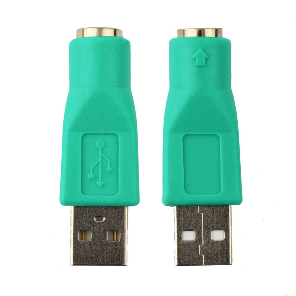 1pc New USB Male To For PS2 Female Adapter Converter for Computer PC Keyboard Mouse Hot Worldwide Drop Shipping 1pcs new free drop shipping card for ps2 for playstation 2 for ps 2 8mb 8m 8 mb memory brand new