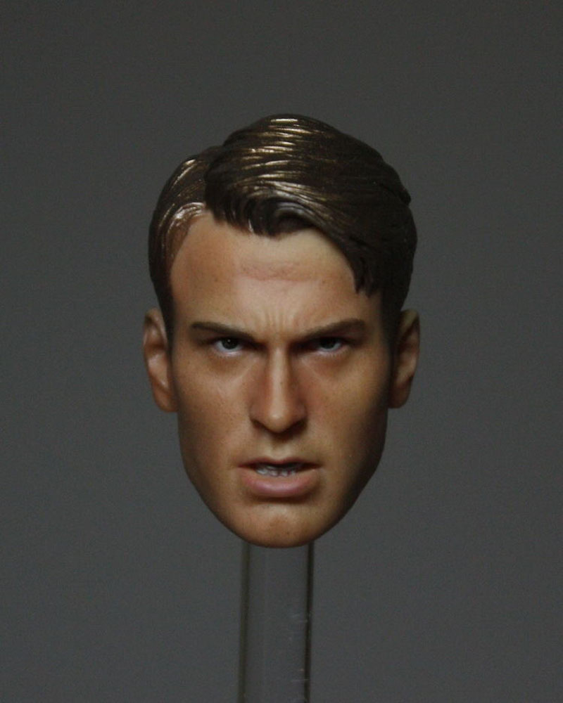1/6 Scale Steve Rogers Man Star Head Sculpts Movies Captain America Male Head Carving Model Toys F 12 Action Figure Collections объектив samyang sony e nex mf 8 mm t3 1 cine umc fish eye ii vdslr