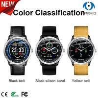 Fashion ECG smart watch with IP 67 electrocardiograph ecg display heart rate monitor smartwatch for xiaomi honor huawei iphone