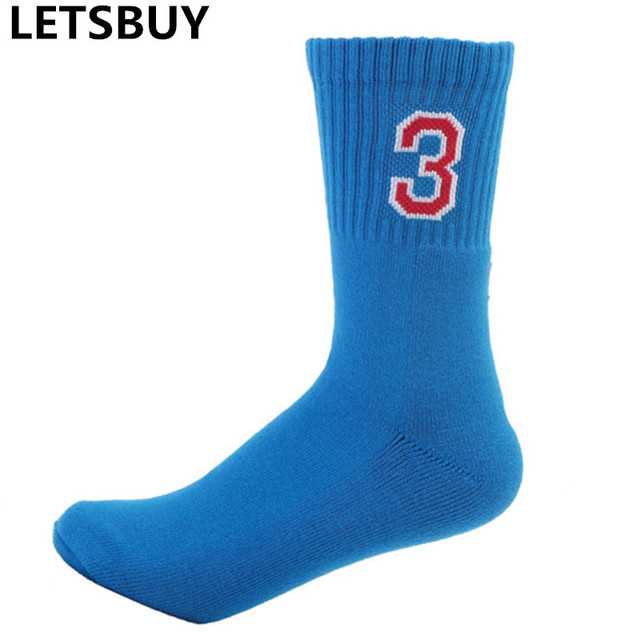 USA basketball number 3 socks man woman sport football running cycling sox professional high quality 2017