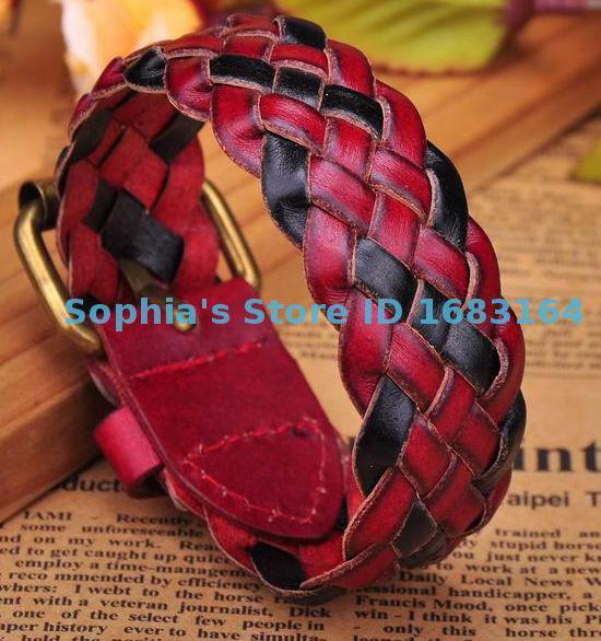 Rock Red Leather Hemp...