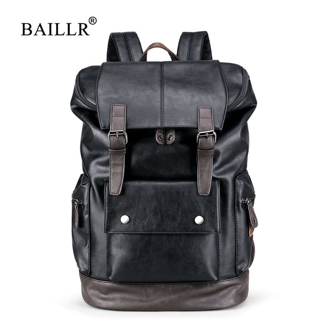 BAILLR Brand Laptop Backpack Men Women Bolsa Mochila for 14-15Inch Notebook Computer Rucksack School Bag Backpack for Teenagers