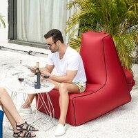 Garten luft sofa sitzsäcke tragbare einzelnen feuchtigkeit wasser beweis boden aufblasbare faul sofa bett outdoor sitzsack strand matte|Garten-Sofas|Möbel -