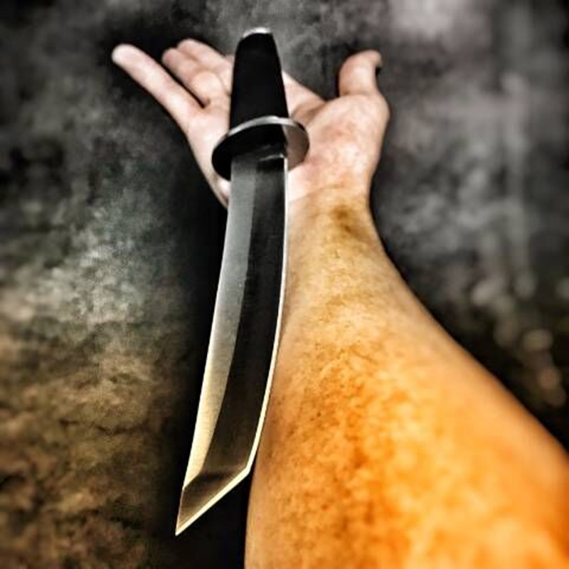 High Hardness Fixed Blade Tactical Knife Outdoor Army Hunting Knifes Survival Gear Straight Knives Combat Katana Camping Tools 1