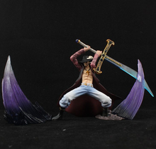 Shichibukai Action Figures Set [4pcs] – Mihawk + Doflamingo + Kuma + Moriah