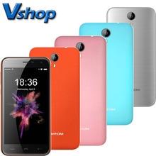 D'origine HOMTOM HT3 PRO HT3 Mobile Téléphones RAM 2 GB 1 GB ROM 16 GB 8 GB 5.0 pouce Android 5.1 Quad Core téléphone portable Double SIM Smartphone