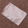 Claro bolsa de bolsas de plástico resellables rojo agarre la prensa sello bolsa Zip Lock bolsas de embalaje bolsa de plástico de la joyería # T025 #