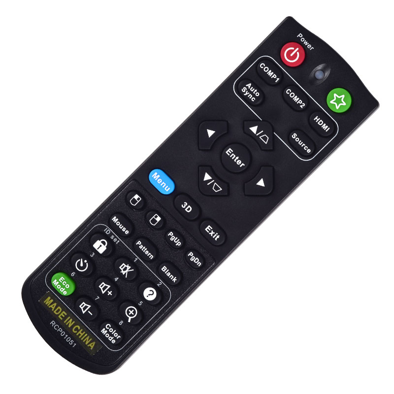 Replacement Remote Control for Viewsonic PJD7720HD