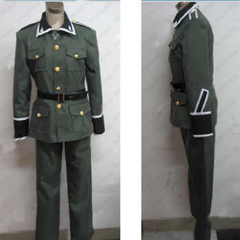 Anime Axis Powers Hetalia APH Ludwig Germany military uniform Cosplay Costume Custom Made - DISCOUNT ITEM  19% OFF All Category