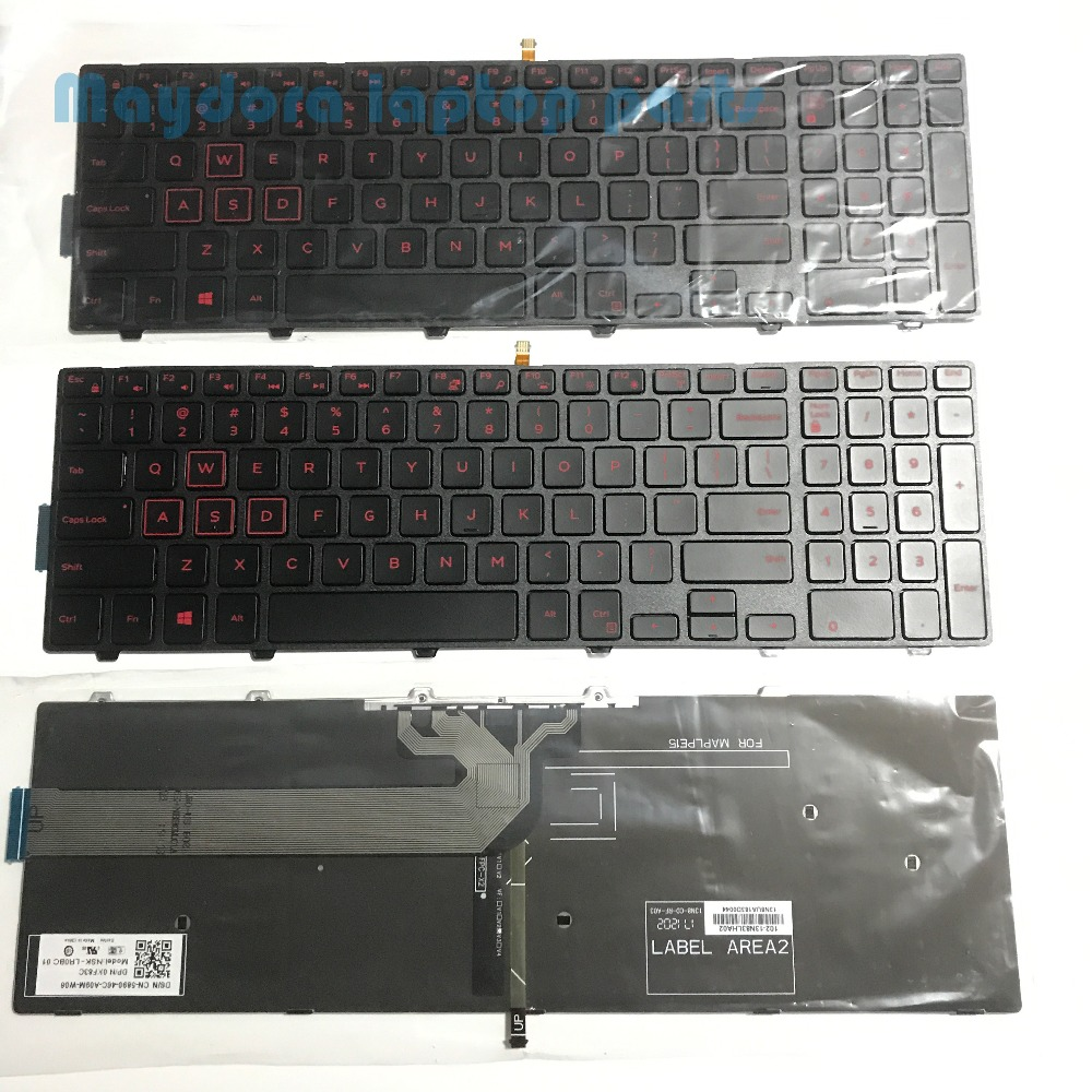 Laptop Replacement Backlit keyboard for Dell Inspiron 15 5542 5543 5545 5547 5548