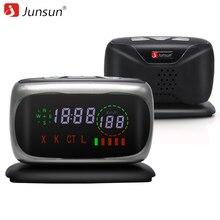 Junsun L5 автомобиля Антирадары Анти радар X/K/ct/l 360 градусов авто детекторы оповещения Радар лазерный детектор голосовой стрелка для России