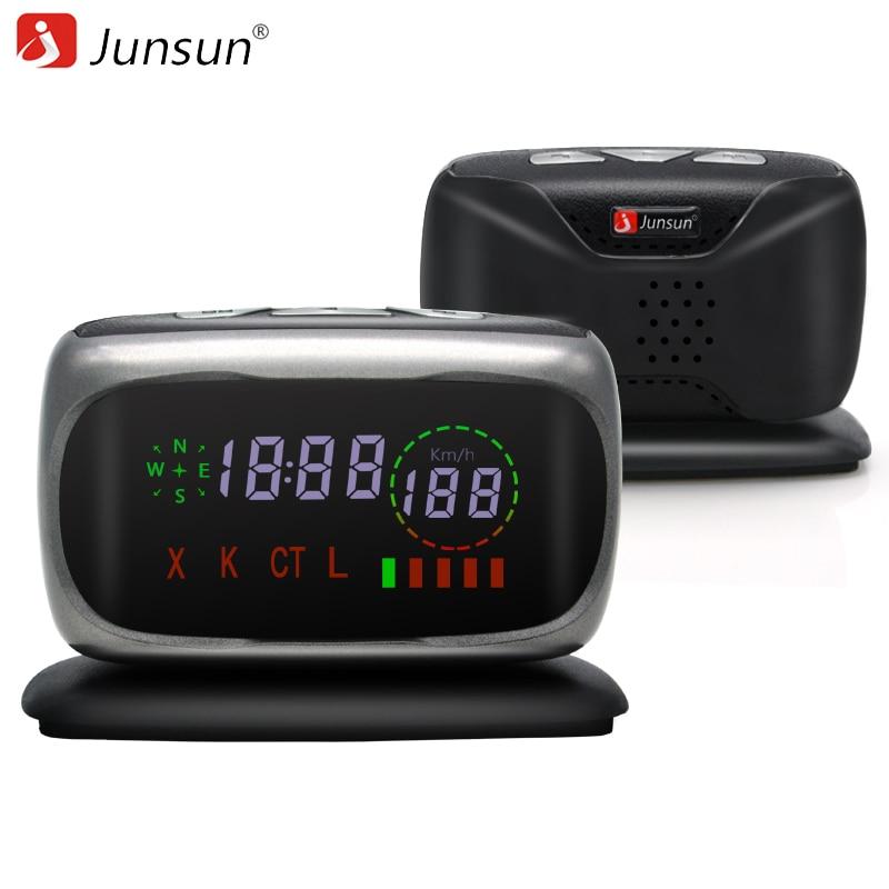 Junsun L5 Car Radar Detector Anti Radar X K CT L 360 Degree Auto Detectors Alert