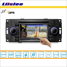 Liislee Car GPS Satellite Navigation Multimedia System For Jeep Commander 2006 2007 Radio Stereo CD DVD