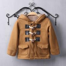 Benemaker/Зимние флисовые куртки для девочек и мальчиков; Детские теплые пальто; комбинезоны для малышей; одежда с капюшоном; детская верхняя одежда; JH090