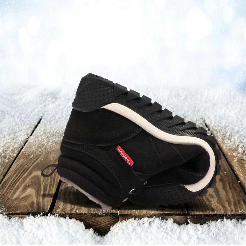 Fourrure Cuir Chaud Bottes Black 2 Chaussures Cheville D'hiver blue Casual Hommes Mode 47 Troupeau En black blue Hiver 39 2 PBzIqq