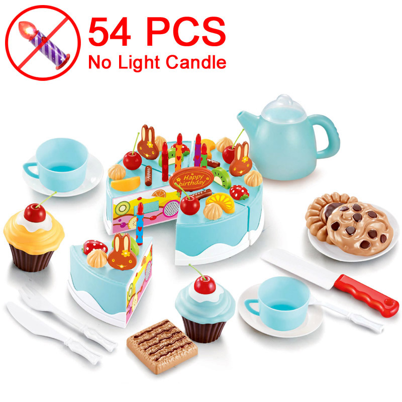 54 Blue NO Candle T