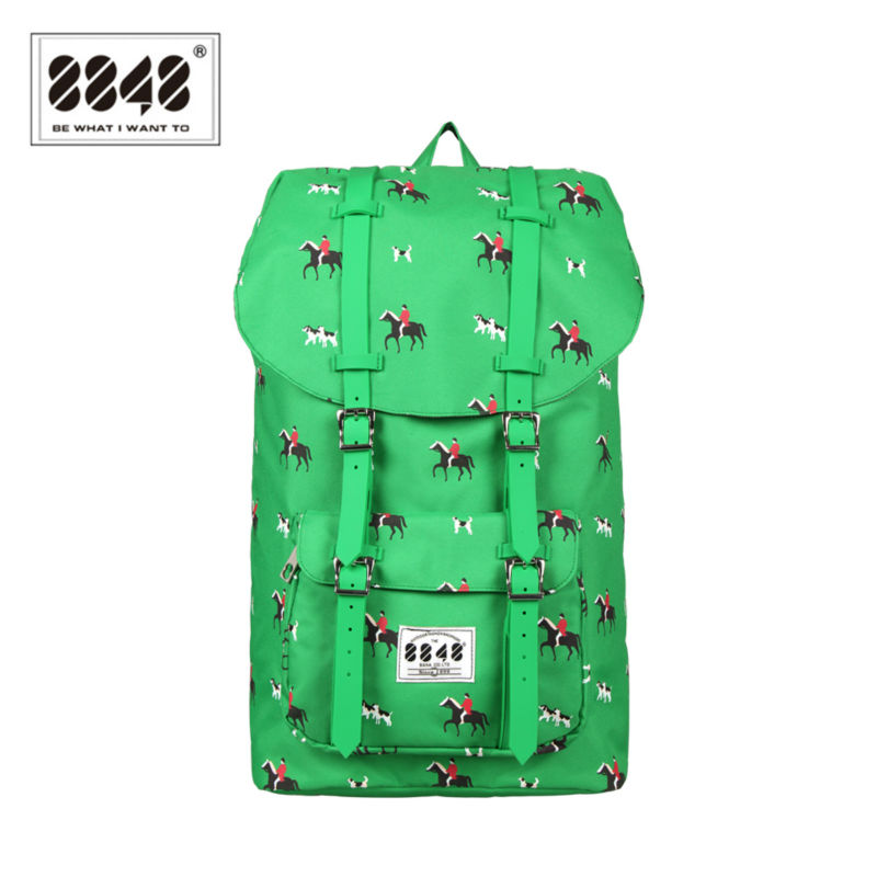 8848 Water-resistant Big Capacity Printing Backpack Women/Men Travel Bags Bolsa Mochila Grande Decoradas DYBN0014-C057 набор для кухни pasta grande 1126804