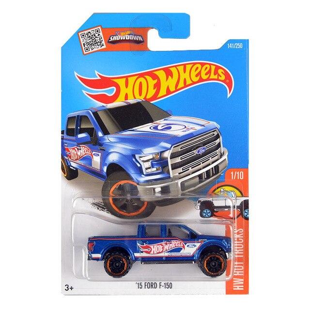 Hot Wheels  Ford F  Blue Truck Metal And Plastic Model Car Kids Classical
