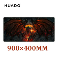 Rubber Gaming Mouse Pad Mouse Mat Desk Mats For Gamer Large Mousepad For World Of Warcraft