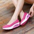 2017 Hot sale sapatos de emagrecimento para senhora meninas verão cunha sapatos casuais Conforto sapatos de lazer para caminhadas leves novos formadores