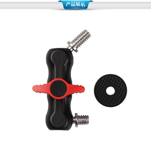 """Image 5 - Kaliou S size 1/4"""" 20 Thread Ball Head Clamp Ball Mount Clamp Magic Arm Super Clamp for Monitor Slider Dolly Video Light"""
