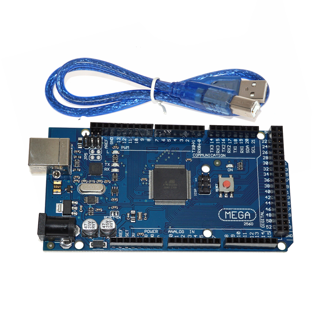 Electronic Educational Project Flash Original Memory 256KB Mega2560 R3 Board For Arduino