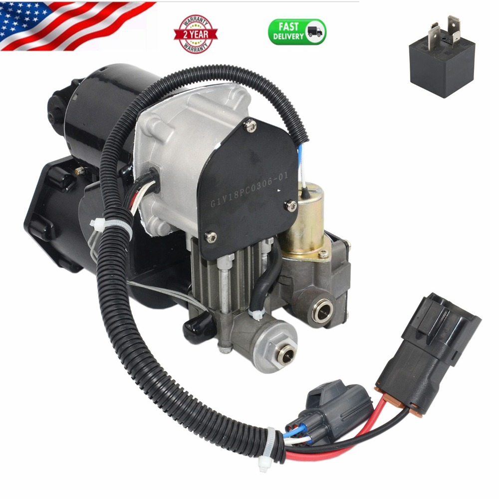 AP03 Air Suspension Compressor For Land Rover Discovery 3/4 LR3 LR4 Range Rover Sport 2006 2007 2008 2009-2013 LR023964 LR045251