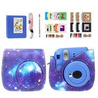 Camera Bag for Fuji Polaroid Camera Mini 8/9 Strap Sticker Lens Filter Photo Frame Album Sticker Accessories