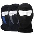 Negro a prueba de Polvo Respirable Ninja Táctico SWAT Balaclava Ciclismo Motocicleta Casco de la Cara Llena Máscara de Airsoft Paintball Al Aire Libre Sombreros
