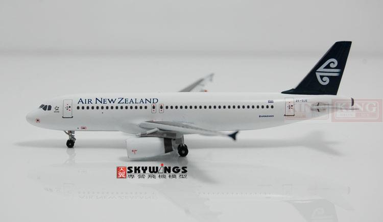 WT4320003 Witty New Zealand aviation ZK-OJE 1:400 commercial jetliners plane model hobby A320 11010 phoenix australian aviation vh oej 1 400 b747 400 commercial jetliners plane model hobby