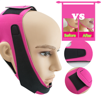 Face Lift Up Belt Sleeping Face-Lift Mask Massage Slimming Face Shaper Relaxation + 1Pcs Quick Wonder Slimming Patch