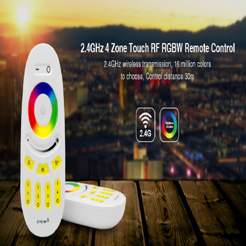 Mi Light LED Controller Button/Touch RF Wireless Remote 2.4G 4-Zone FUT095 FUT096 RGB RGBW For MiLight LED Bulb Strip Lamp Light