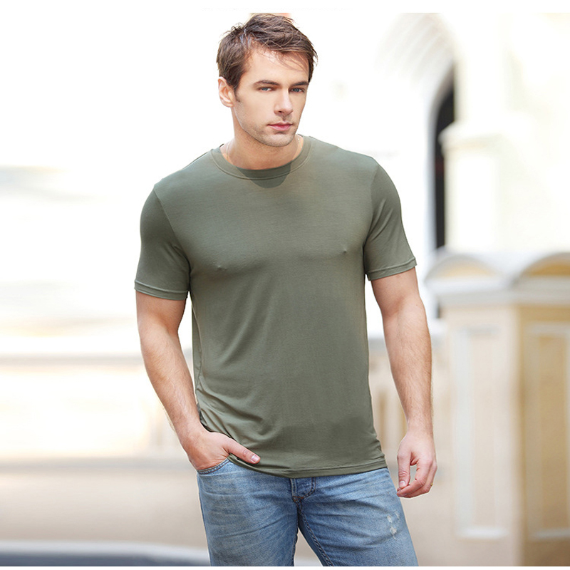 New arrival sale t shirt men shirt bamboo fiber man t for Bamboo fiber t shirt