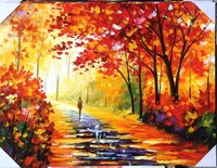 Handmade Palette Knife Oil Paintings On Canvas Wall Art Modern Pictures For Living Room Unique Gift
