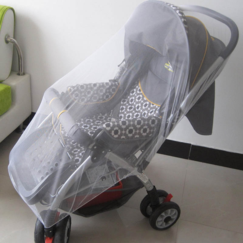Baby Pram Buggy Stroller Insect Cover Pushchair Mosquito  Fly Net Mesh Cover UK
