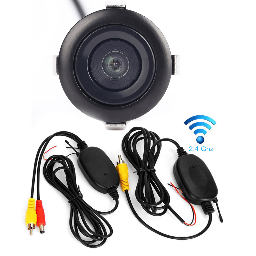 Wireless Rear View Camera Car Styling CCD Waterproof Backup Night Vision CarView Parking Camera Kit For Kia K2 Focus Camera