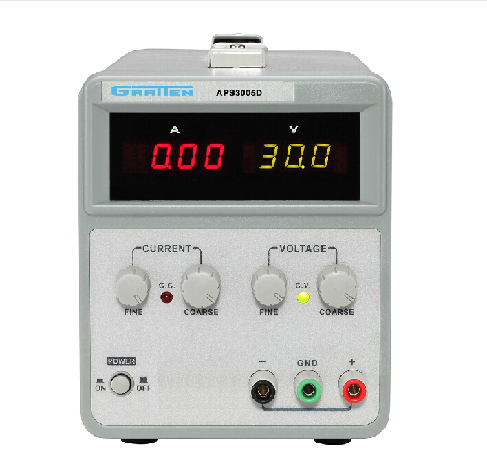 New APS3005D Variable DC 30V 5A Power Supply