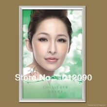Aluminum poster board snap frame Custom poster board Photo Frame Wall Mount Graphic Printing