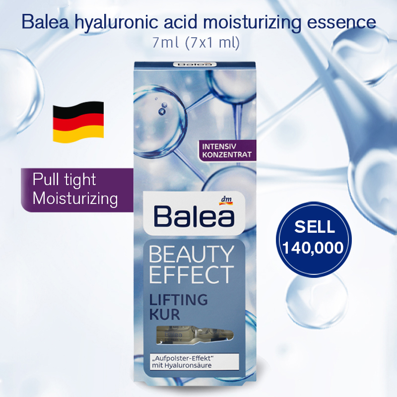 Allemagne Balea acide hyaluronique sérum traitement Anti-rides liquide ascenseur Booster Ampoules visage cou Essence hydratant injection