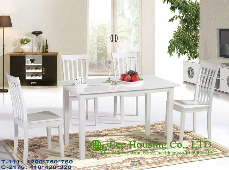 T-111,C-2176    Luxurious Solid Dining Chair,Solid Wood Dinning Table Furniture With Chairs/Home Furniture
