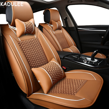 KADULEE ice silk car seat covers For Mazda 3 6 2 C5 CX-5 CX7 323 626 M2 M3 M6 Axela Familia Automobiles Seat Covers car-stying