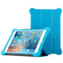 Case For iPad air 1/2 pro 9.7/10.5 2018 silicone leather cover flap is detachable, shockproof and fully enclosed Hibernate