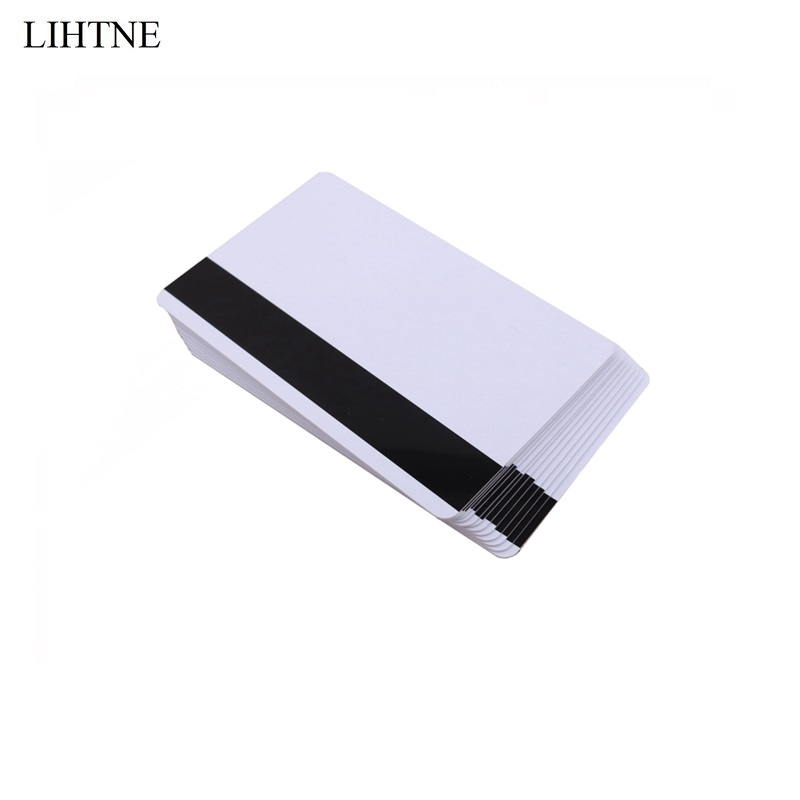 10PCS/lot CR80 LOCO 300 OE Low Resistant Magnetic Stripe Card Blank PVC Magnetic Cards жидкость loco french cake 60мл 0мг