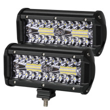Led-Light-Bar Offroad Combo Beam Boat Car-Tractor Truck Driving 4x4 24V 7inch 12V 2PCS